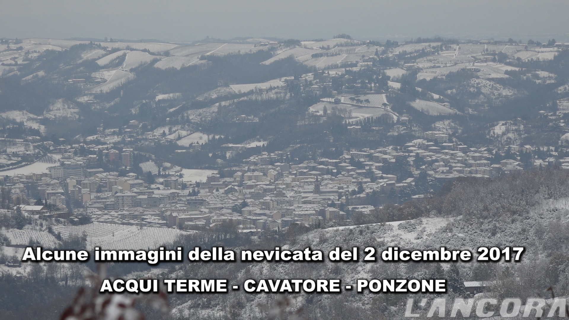 Photo of Nevicata del 2 dicembre 2017