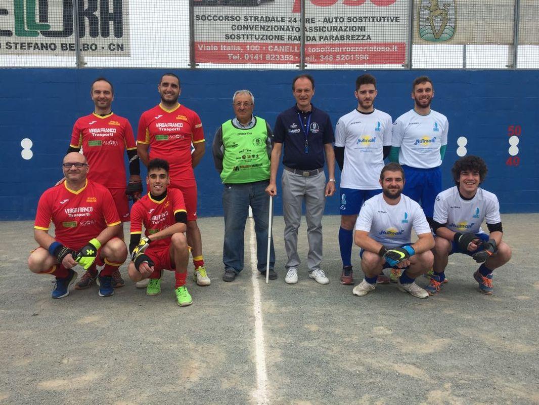 Photo of Pallapugno C2, posticipo: Augusto Manzo vince facile contro Mombaldone