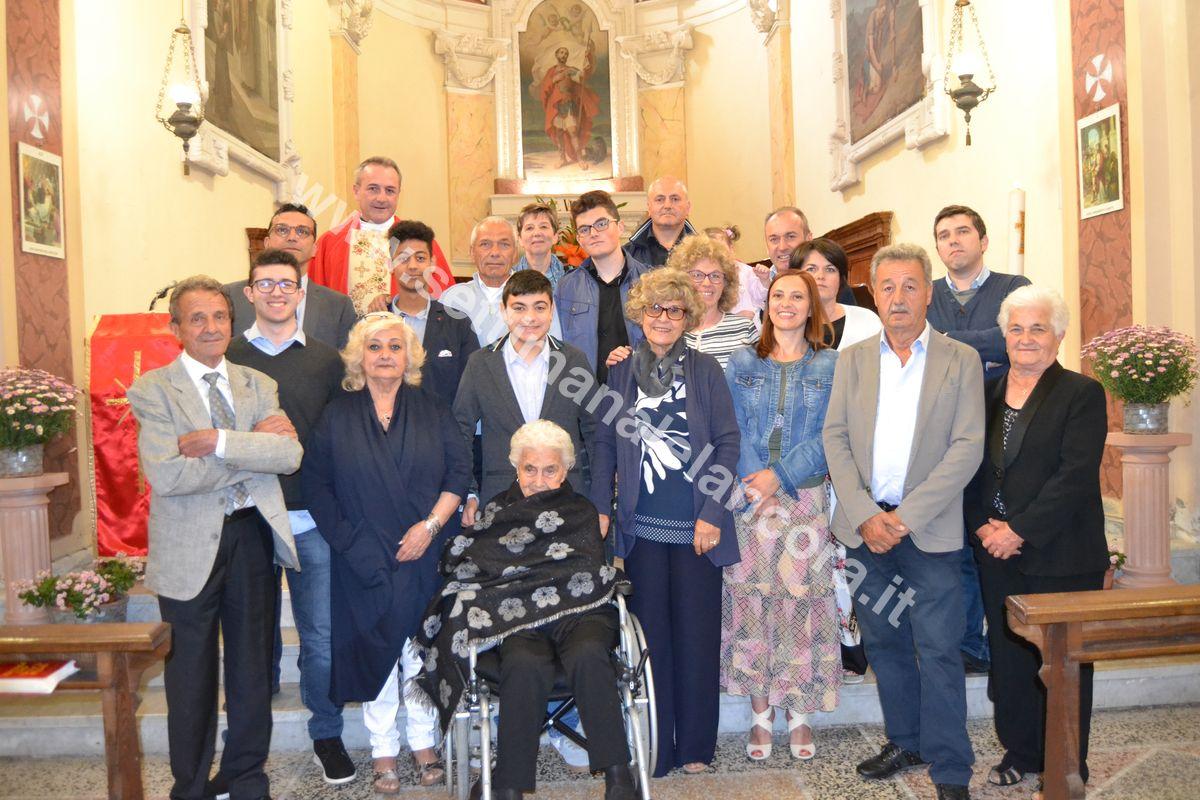 Photo of Perletto: Paolina Soria Canobbio ha festeggiato il secolo di vita