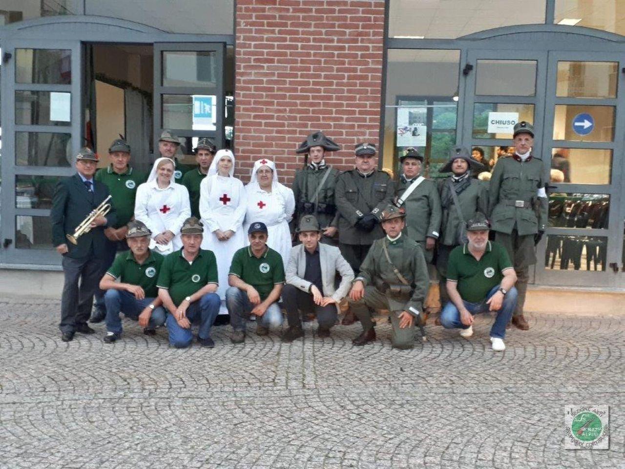 Photo of Il Gruppo Alpini di Cortiglione onora caduti della Grande guerra