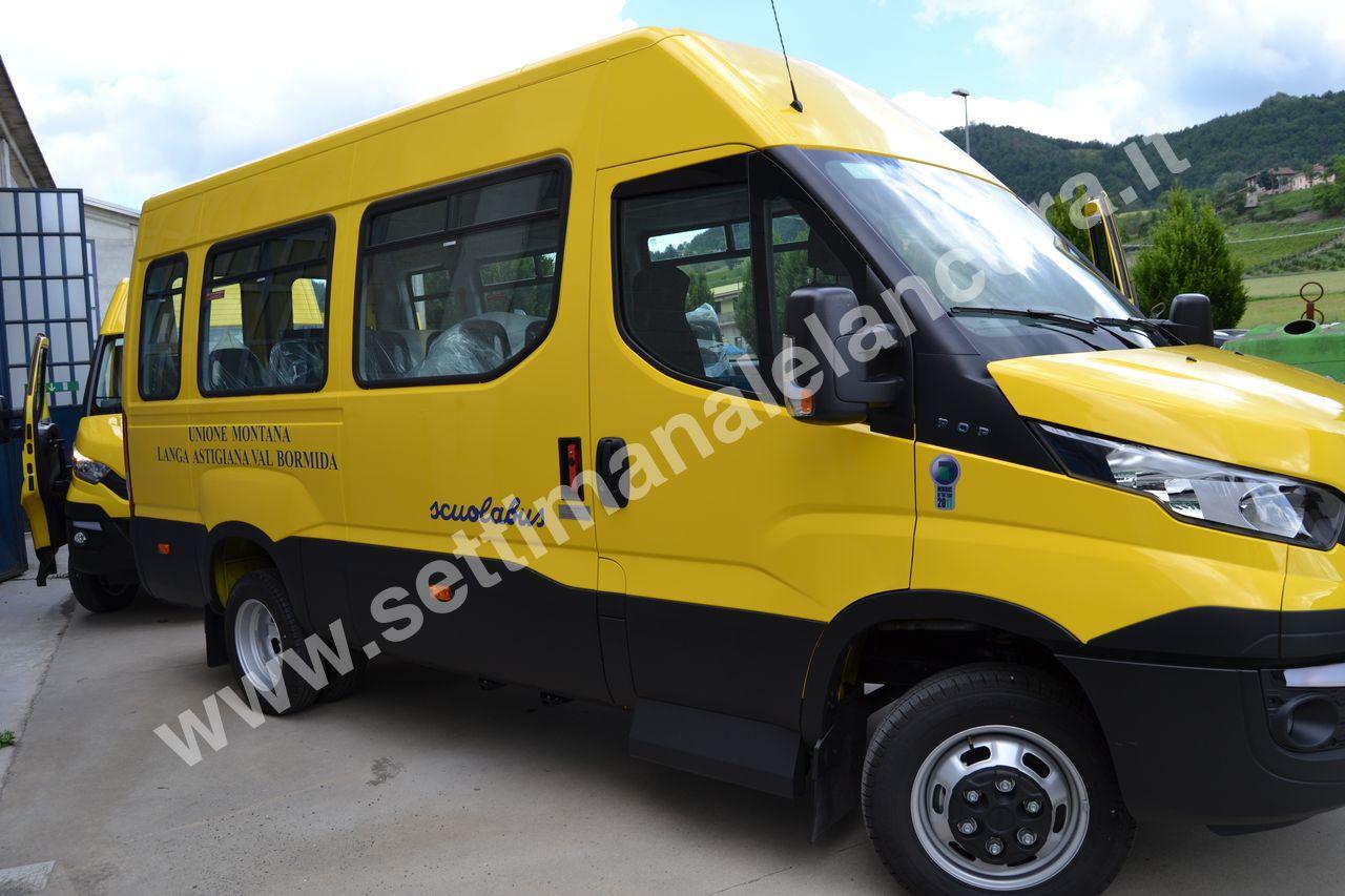 Photo of Unione Montana Langa Astigiana: consegnati due nuovi scuolabus