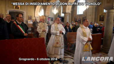 Photo of Grognardo – Messa di insediamento di don Alfredo Vignolo (VIDEO)