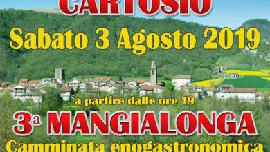 """Photo of """"Mangialonga"""", a Cartosio il 3 agosto"""