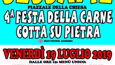"""Photo of Sessame, 4ª edizione della """"Festa della carne cotta su pietra"""""""