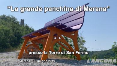 Photo of Merana – La panchina gigante (VIDEO)