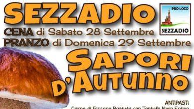 """Photo of """"Sapori d'autunno"""" il 28 e 29 settembre"""