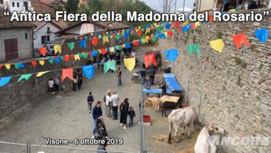 Photo of Visone – Antica fiera della Madonna del Rosario 2019 (VIDEO)