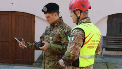 Photo of L'Esercito monitora con i droni le frane causate dall'alluvione
