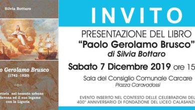 Photo of Carcare, si presenta il libro-biografia del pittore savonese Paolo Gerolamo