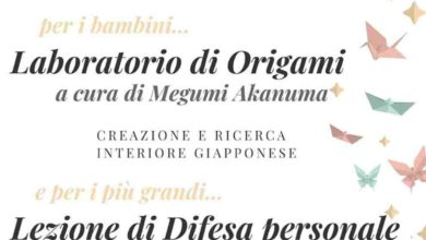 Photo of Rossiglione: Origami e difesa personale