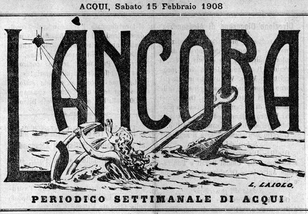Testata 1908 de L'Ancora