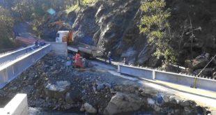 Nuovo ponte sul Vezzulla verso il completamento