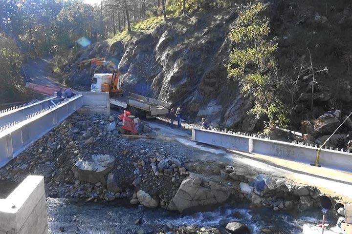 Photo of Nuovo ponte sul Vezzulla verso il completamento