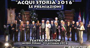 Acqui Storia 2016 - Le Premiazioni