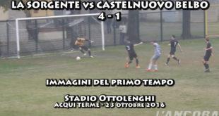 La Sorgente vs Castelnuovo Belbo 4 - 1