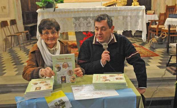 """presentazione del libro """"Nonna Rosa"""""""
