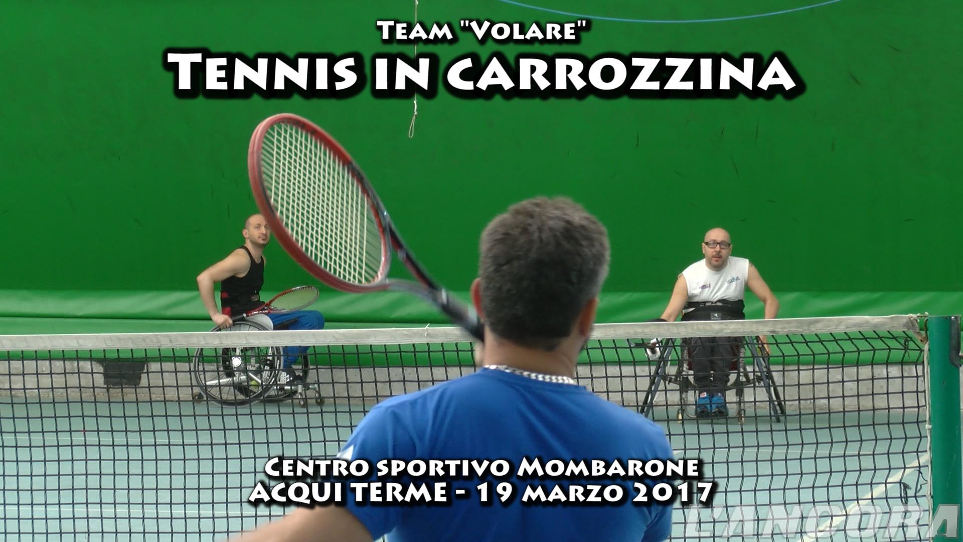Photo of Mombarone capitale del tennis in carrozzina