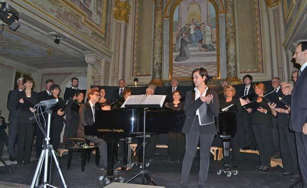 concerti nella sala Santa Maria