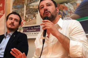 Riccardo Molinari e Matteo Salvini