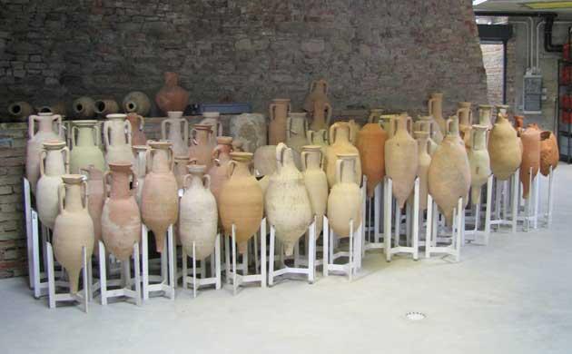 anfore al museo archeologico
