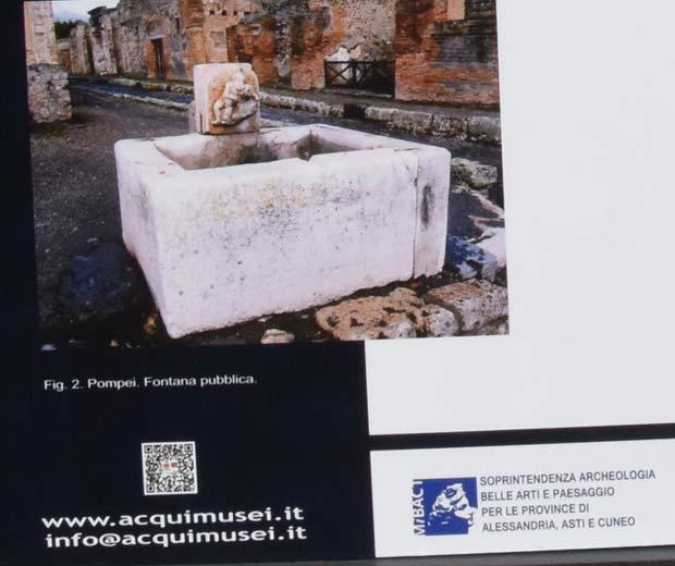 Acqui Terme, codice QR