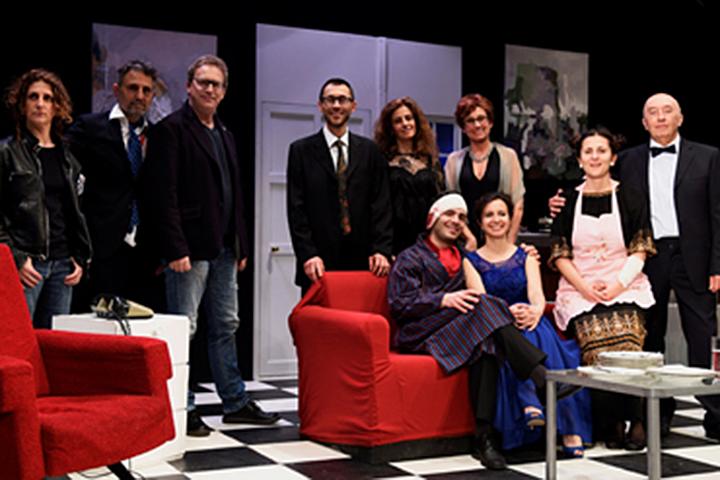 """Photo of A teatro """"Separazione"""" con Mario Zucca e Marina Thovez"""