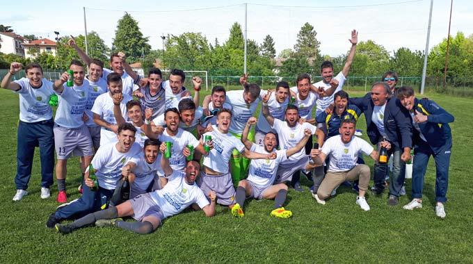 Calcio: La Sorgente promossa in Promozione