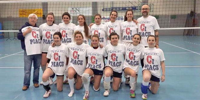 Volley femminile Cantine Rasore Ovada
