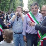 manifestazione contro la discarica di Sezzadio