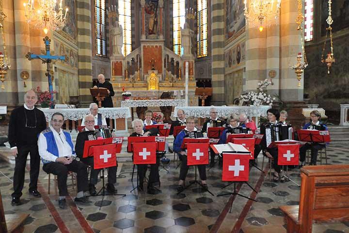 "Photo of Concerto fisarmonicisti  ""Evergreens Aarau"""