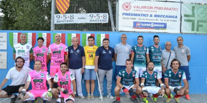 Pallapugno serie A: Bubbio - Cuneo