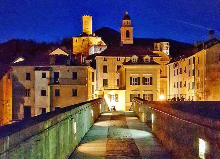 Campo Ligure, foto notturna