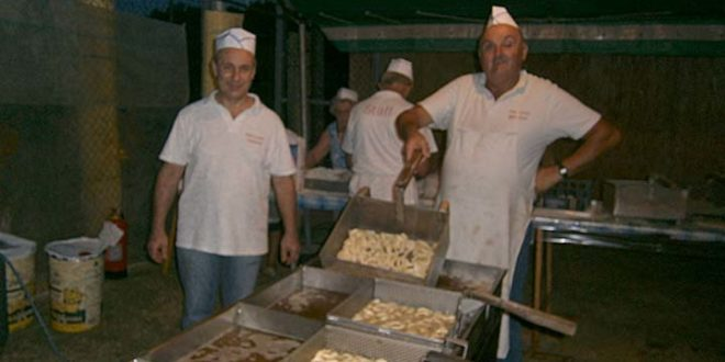 Cessole fritto di pesce