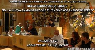 Consiglio comunale ad Acqui Terme