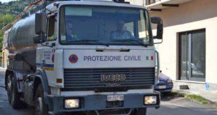 autobotte in transito da Cortemilia diretta a Roccaverano