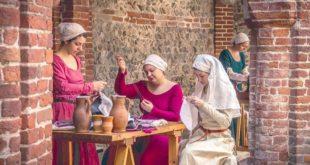 Alcuni personaggi della festa medioevale di Cassine