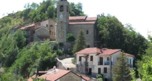 Il paese di Montechiaro d'Acqui