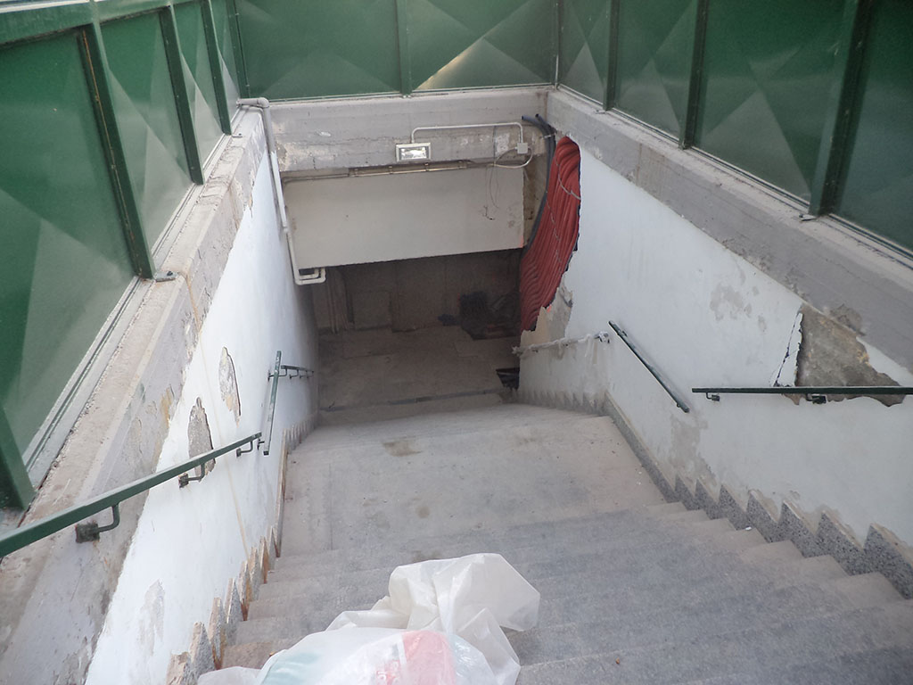 Sottopasso stazione di Ovada