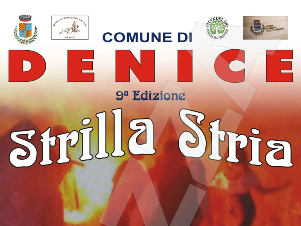 "Photo of Denice, 9ª edizione di ""Strilla Stria"""