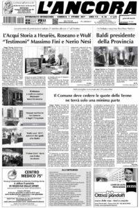 L'Ancora prima pagina n.36