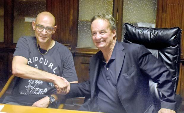 Lorenzo Lucchini e Enrico Bertero