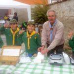 Trisobbio: il Gruppo Scout Cassine alla prima fiera regionale del tartufo bianco