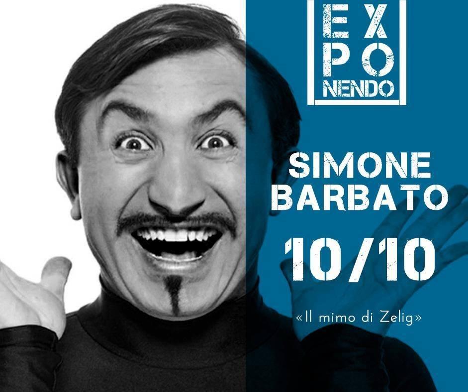 Simone Barbato ad Exponendo di Acqui Terme