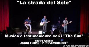 """""""La strada del Sole"""" musica e testimonianza con i The Sun"""