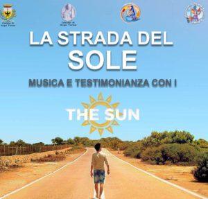 """locandina concerto di """"The Sun"""""""