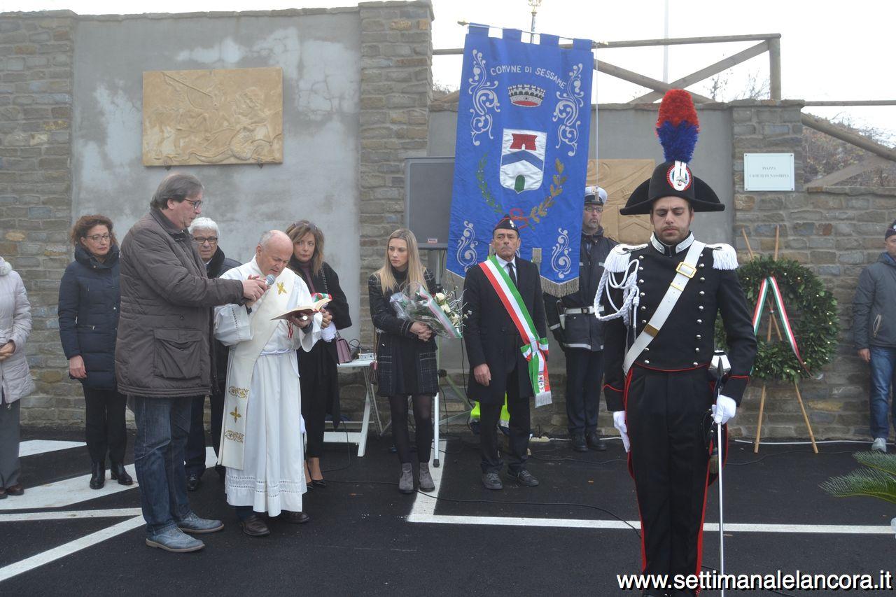 "Photo of Sessame, intitolata piazza ai ""Caduti di Nassiriya"""