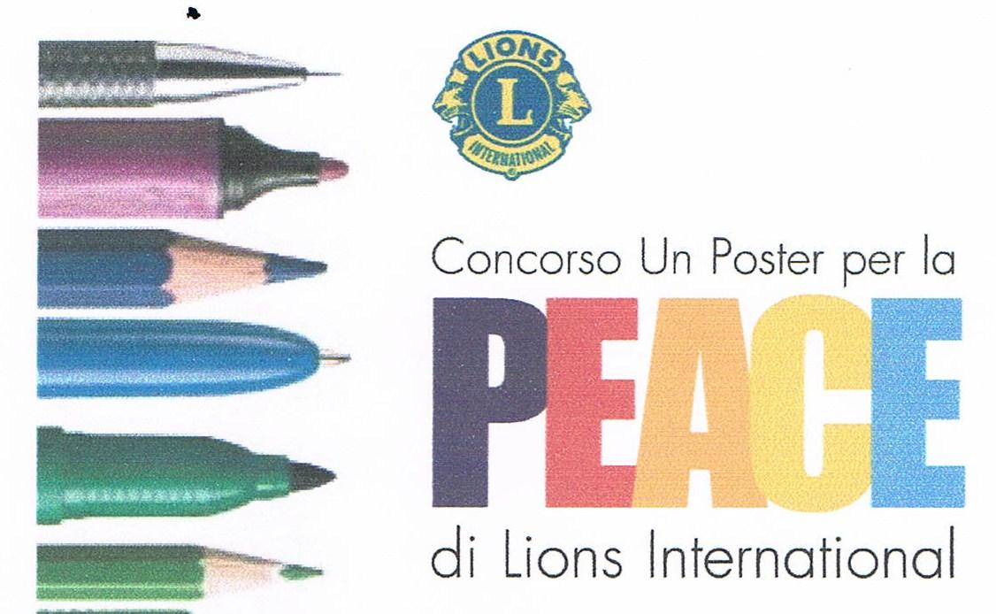 """locandina """"Un poster per la pace"""""""