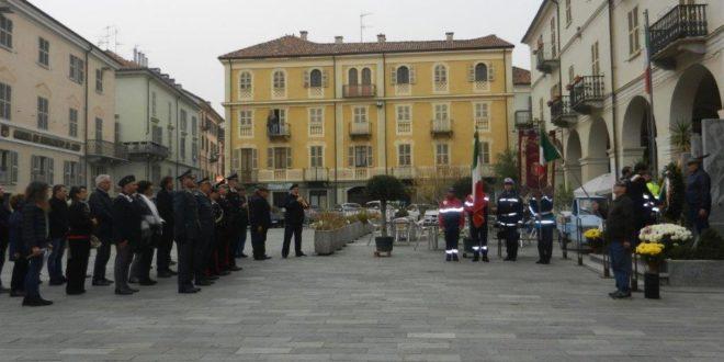 Commemorazione 4 novembre a Nizza Monferrato