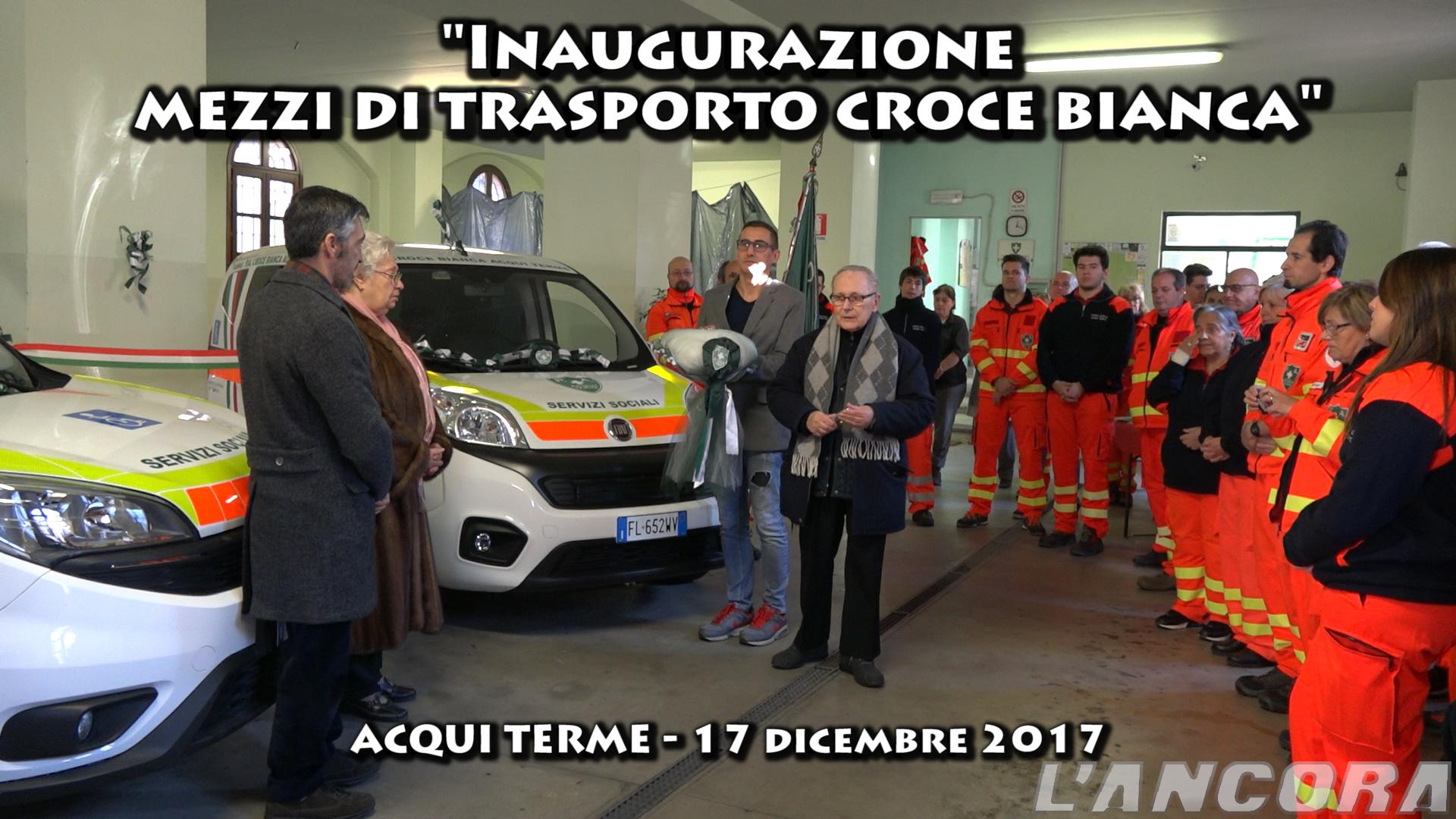 Photo of Inaugurazione mezzi di trasporto della croce bianca (VIDEO)