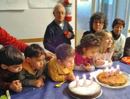 """i """"piccolissimi"""" spengono le 150 e 111 candeline dell'Azione Cattolica"""